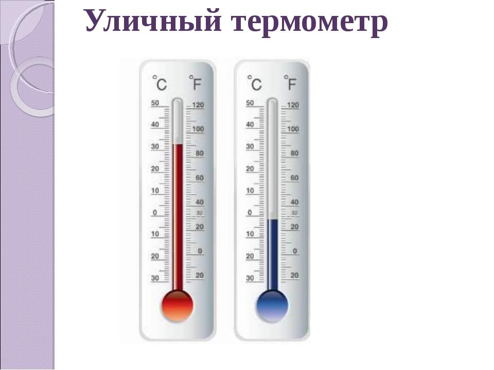Уличный термометр