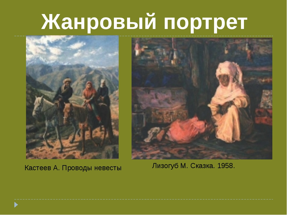 Лизогуб М. Сказка. 1958. Кастеев А. Проводы невесты Жанровый портрет