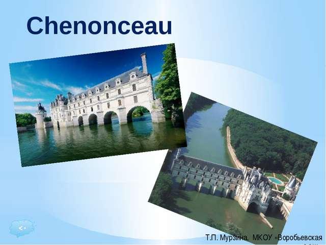 """Le Château de Chenonceau, dans le village de Chenonceaux est le """"parfait"""" Châ..."""