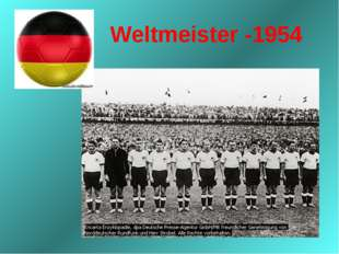 Weltmeister -1954