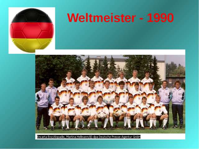 Weltmeister - 1990