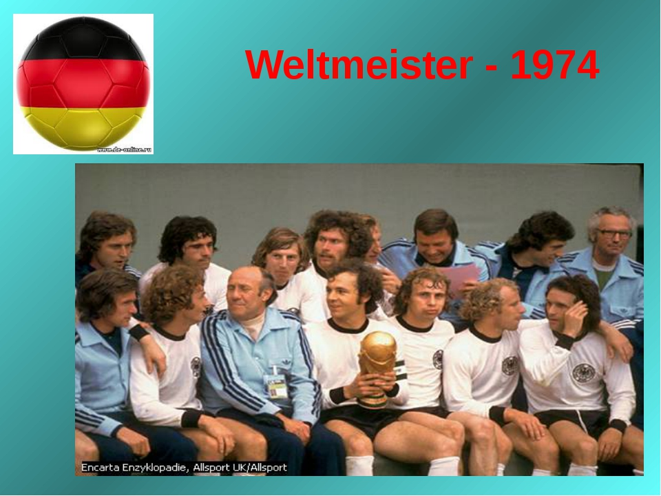 Weltmeister - 1974
