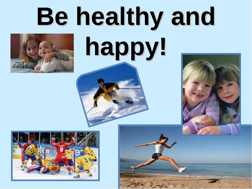 Презентация здоровый образ жизни по английскому