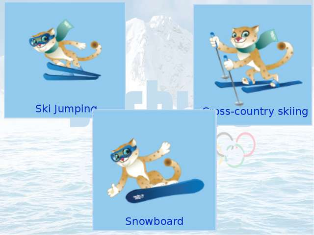 Ski Jumping Olympic Sports Cross-country skiing Snowboard