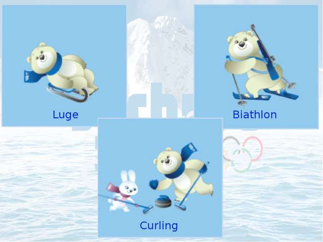 Luge Olympic Sports Biathlon Curling