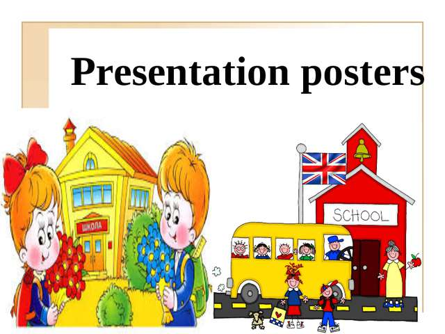 Presentation posters