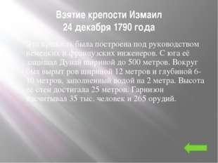 День победы русской эскадры у мыса Тендра (11 сентября 1790г) Эскадра противн