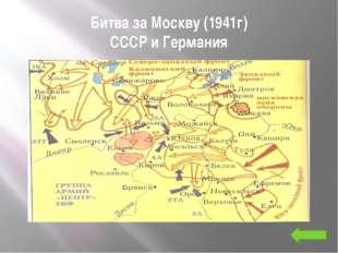 Сталинградская битва СССР и Германия