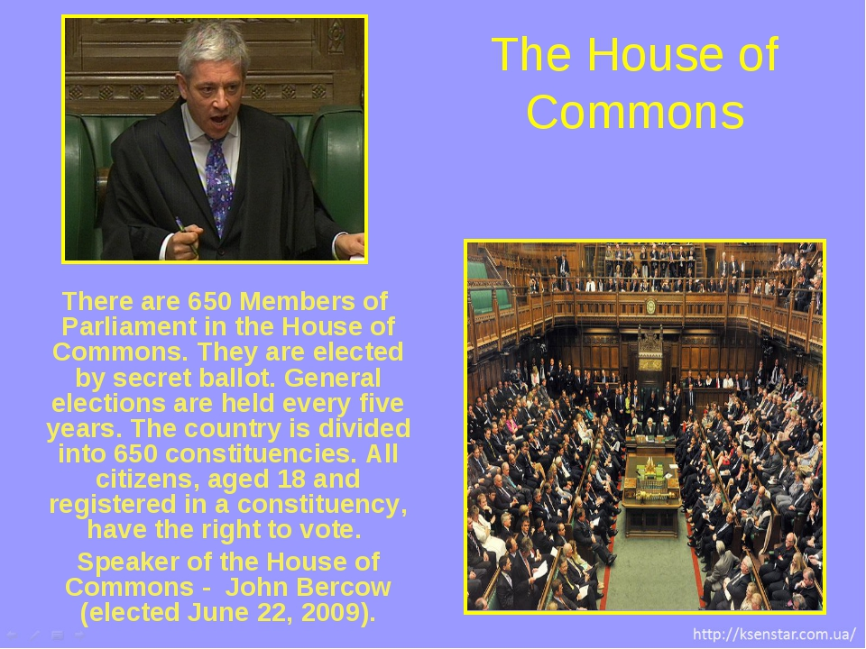There are 650 Members of Parliament in the House of Commons. They are elected...