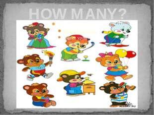 HOW MANY?