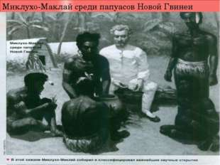 Миклухо-Маклай среди папуасов Новой Гвинеи