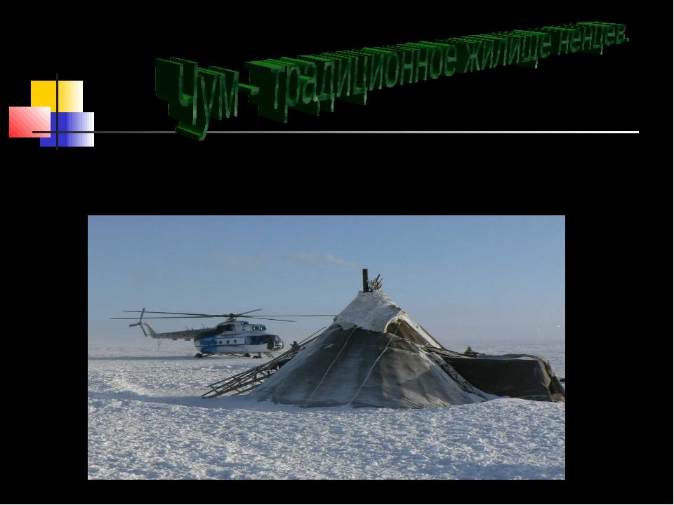 Зимой чум устанавливается на укрытых участках от ветра местах, а летом на воз...
