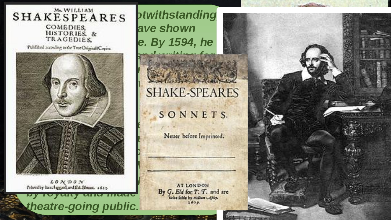 shakespeare at 450 The bard's fourth folio – shakespeare at 450 shakespeare, w mr william shakespear's comedies, histories & tragediesunto which is added, seven plays, never before printed in.