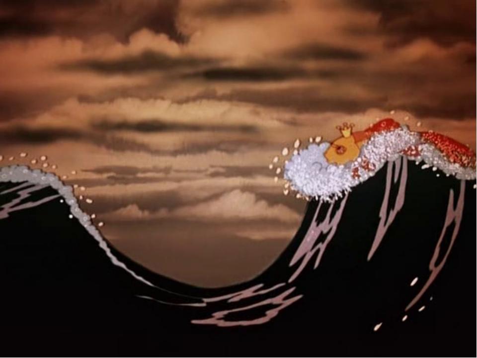 Картинка моря из сказки