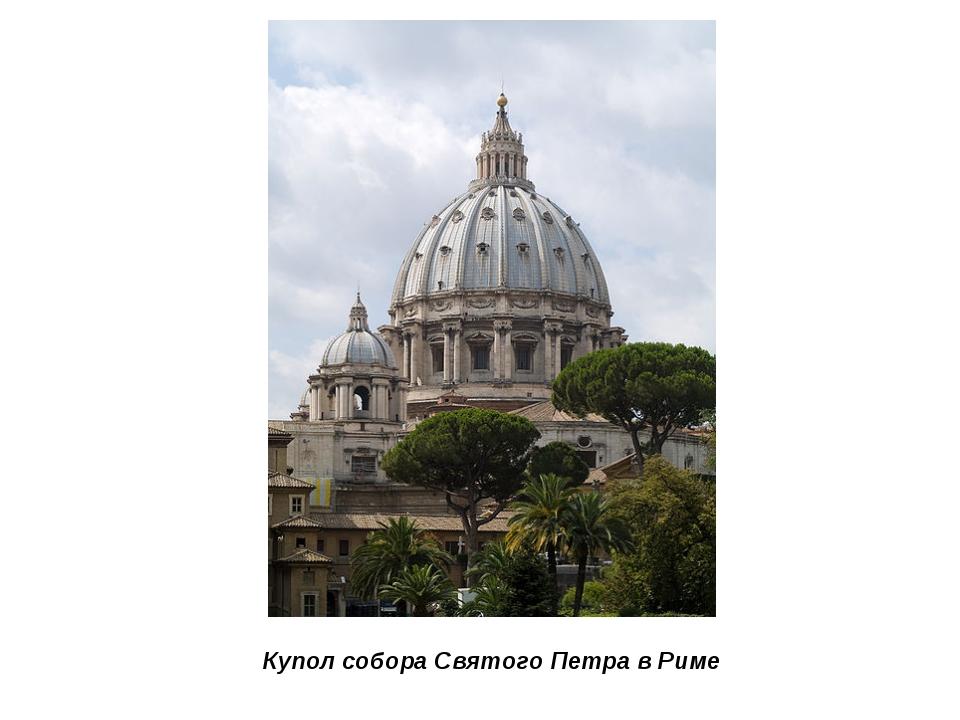 Купол собора Святого Петра в Риме