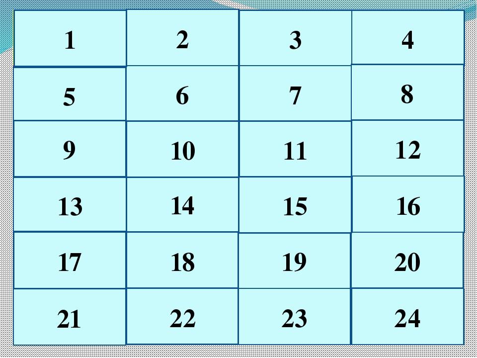 6 1 2 4 3 5 7 8 20 11 24 13 9 21 17 22 23 18 19 14 15 10 12 16 1 2 3 4 5 6 7...