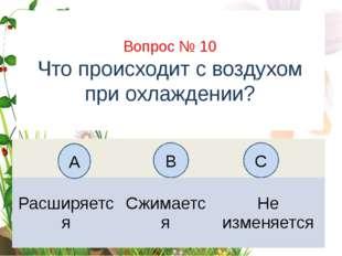 Вопрос № 6 На каком рисунке изображён флаг России? А B C Вопрос № 10 Что прои