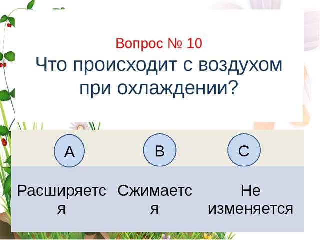Вопрос № 6 На каком рисунке изображён флаг России? А B C Вопрос № 10 Что прои...
