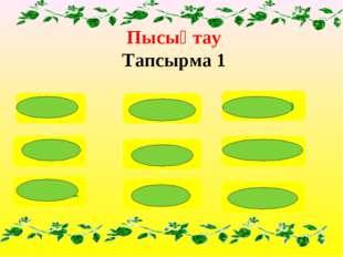 Пысықтау Тапсырма 1 7х10=70 5х10=50 20:10=2 200:100=2 600:10=60 90х10=900 80