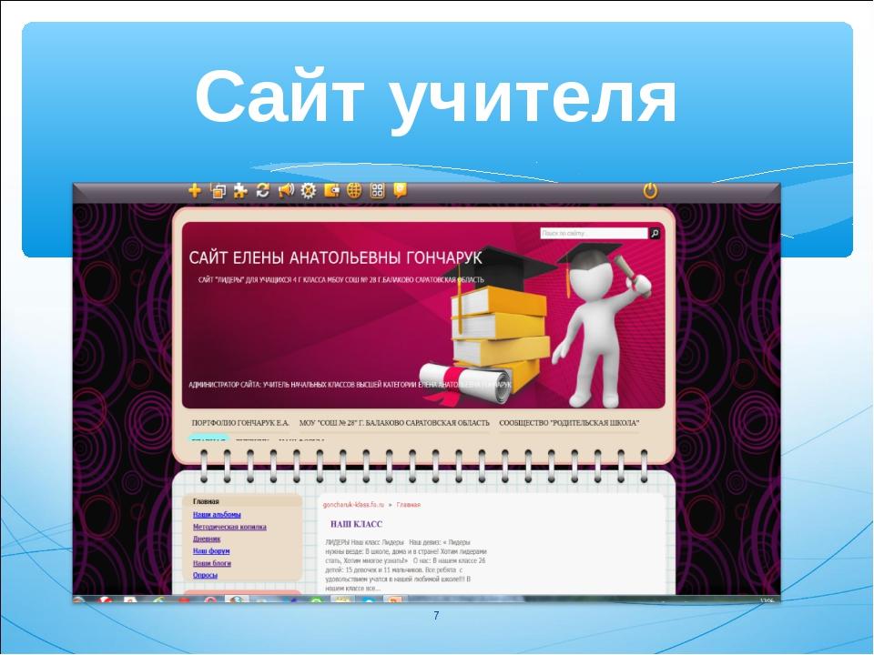 Сайт учителя *