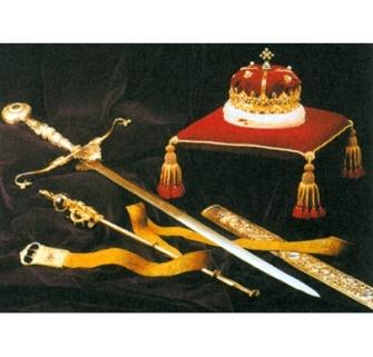 Королевские Регалии Шотландии символ