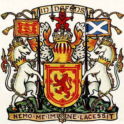 Герб Шотландии- лев