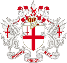 Герб Лондона, столицы Великобритании