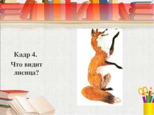 Кадр 4. Что видит лисица?