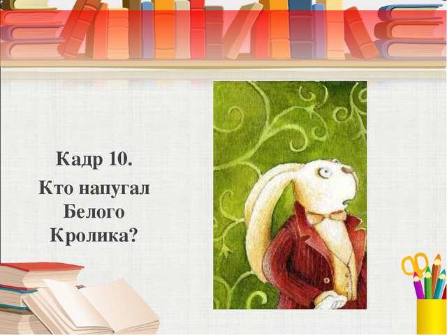 Кадр 10. Кто напугал Белого Кролика?