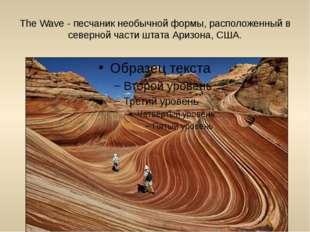 The Wave - песчаник необычной формы, расположенный в северной части штата Ари