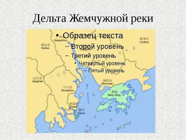 Дельта Жемчужной реки