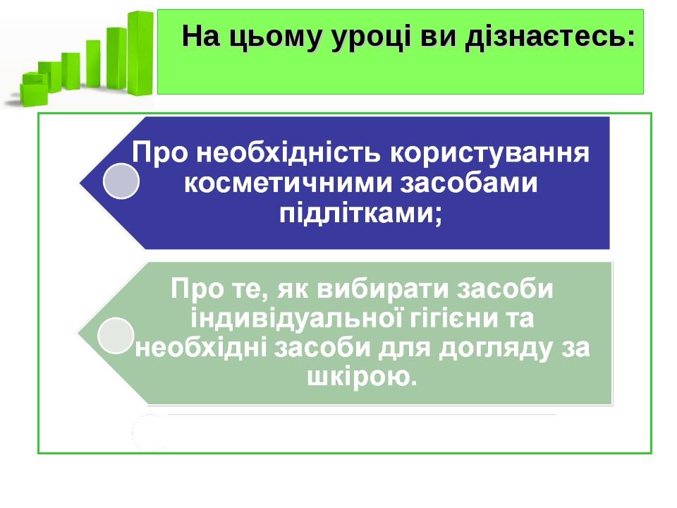 Конспект уроку+ презентація ««Косметичні засоби і здоров я 354d25ec703b3