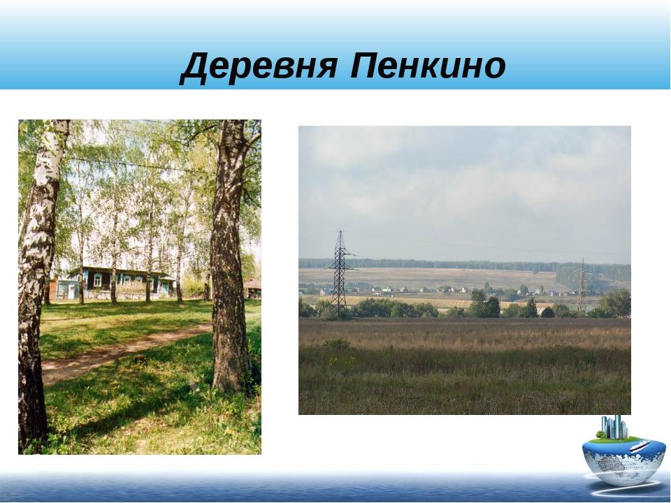 Деревня Пенкино