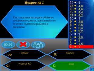 A: C: B: D. 50:50 15 14 13 12 11 10 9 8 7 6 5 4 3 2 1 5 4,8 4,6 4,4 4,2 4 3,8