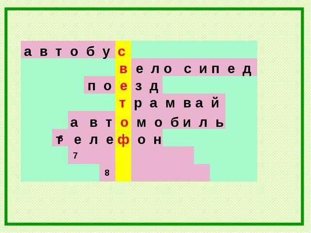 а в т о б у с в е л о с и п е д 7 6 8 п о е з д т р а м в а й а в т о м о б и...