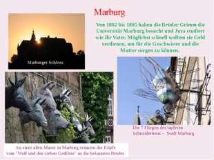 Marburg Marburger Schloss Die 7 Fliegen des tapferen Schneiderleins – Stadt M