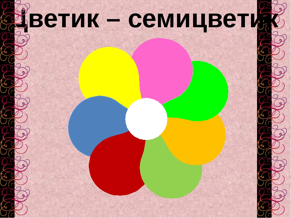 Цветик – семицветик