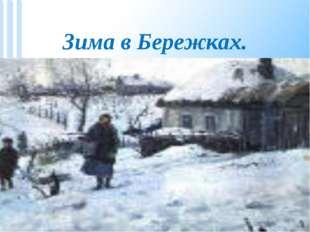 Зима в Бережках.