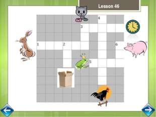 Lesson 52 I can see a fox with a box I can see a frog with a box. I can see a