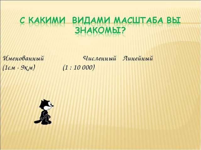ИменованныйЧисленныйЛинейный (1см - 9км) (1 : 10 000)