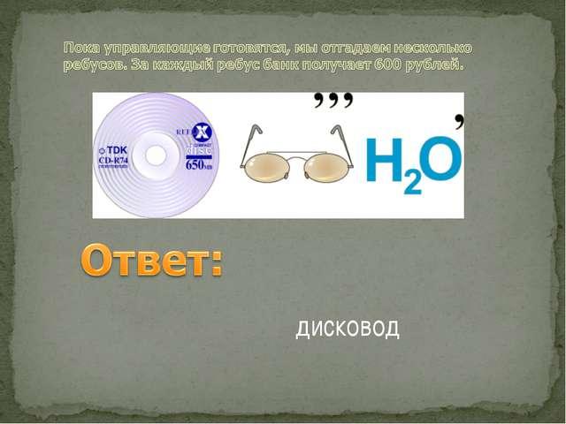 дисковод