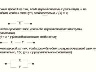 Найдите функции проводимости следующих переключательных схем: