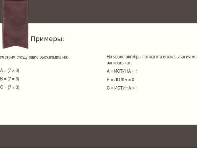 Соответствует союзу ИЛИ Обозначается ۷ ДИЗЪЮНКЦИЯ (логическое сложение) Дизъю...