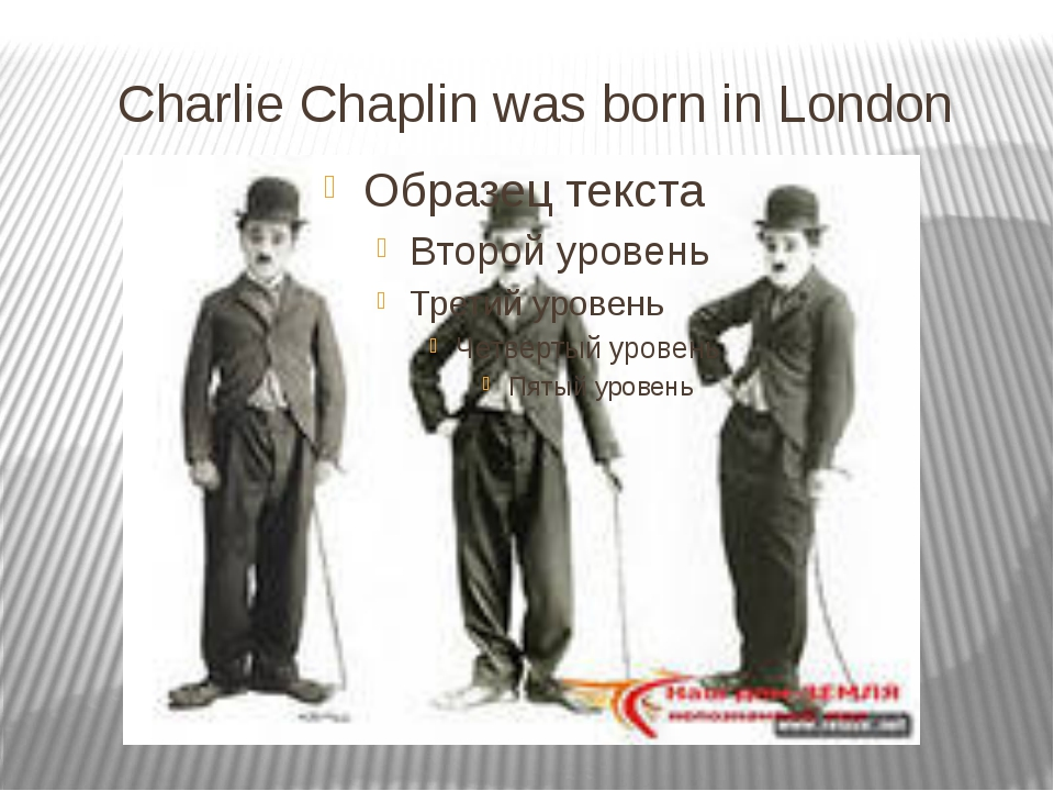 Charlie Chaplin was born in London
