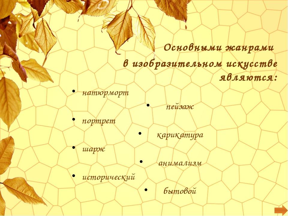 1. Назовите имена известных русских пейзажистов.