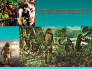 Но мирной поступь человека ненадолго стала, Даров природных для него как видн