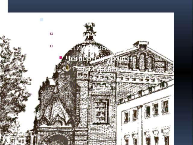 Храм св. Серафима Саровского в Сарове, рисунок современного вида.
