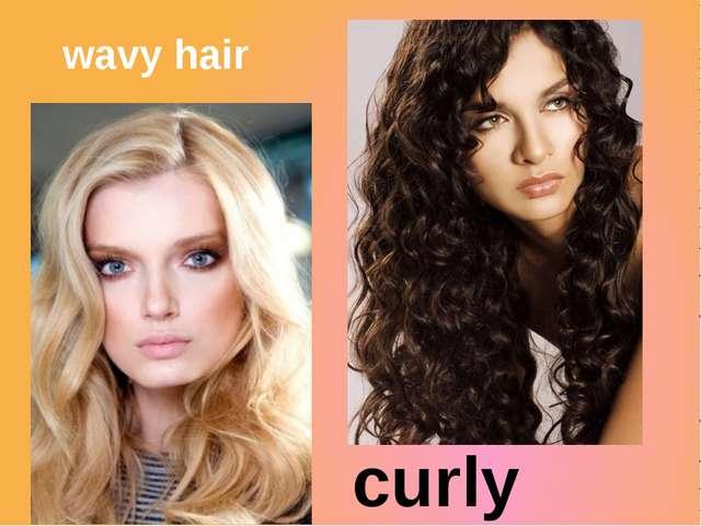 wavy hair curly hair