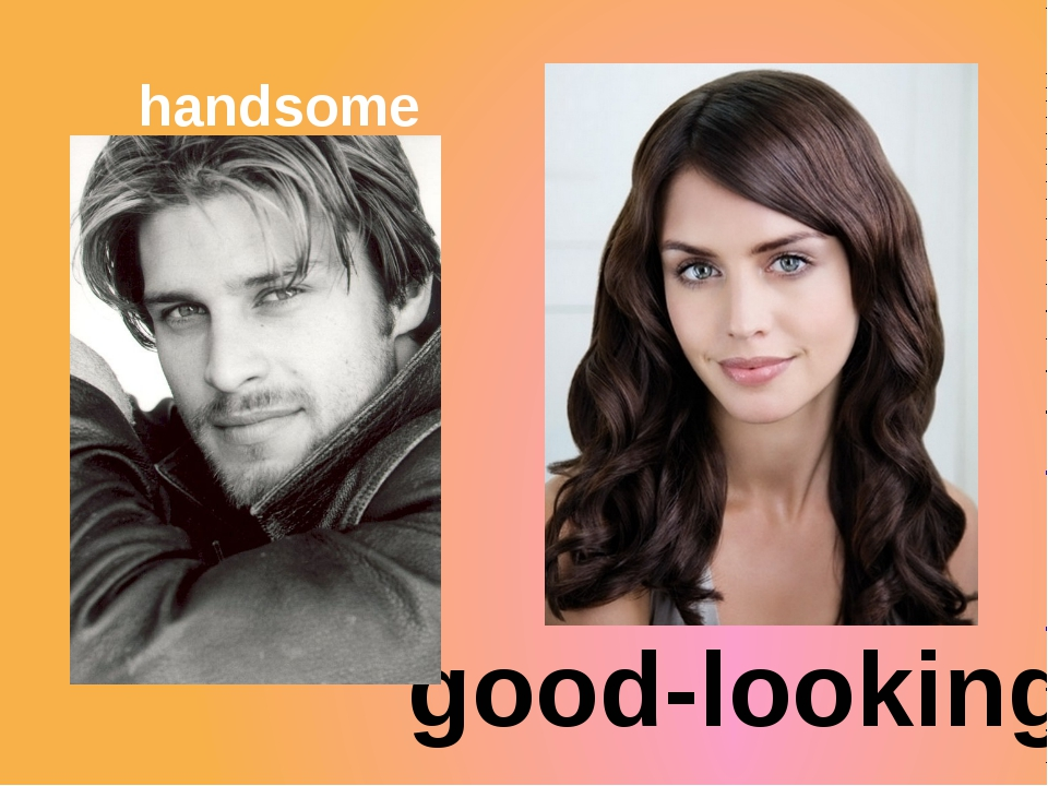 handsome good-looking