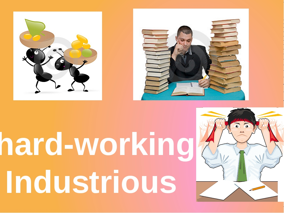 hard-working Industrious